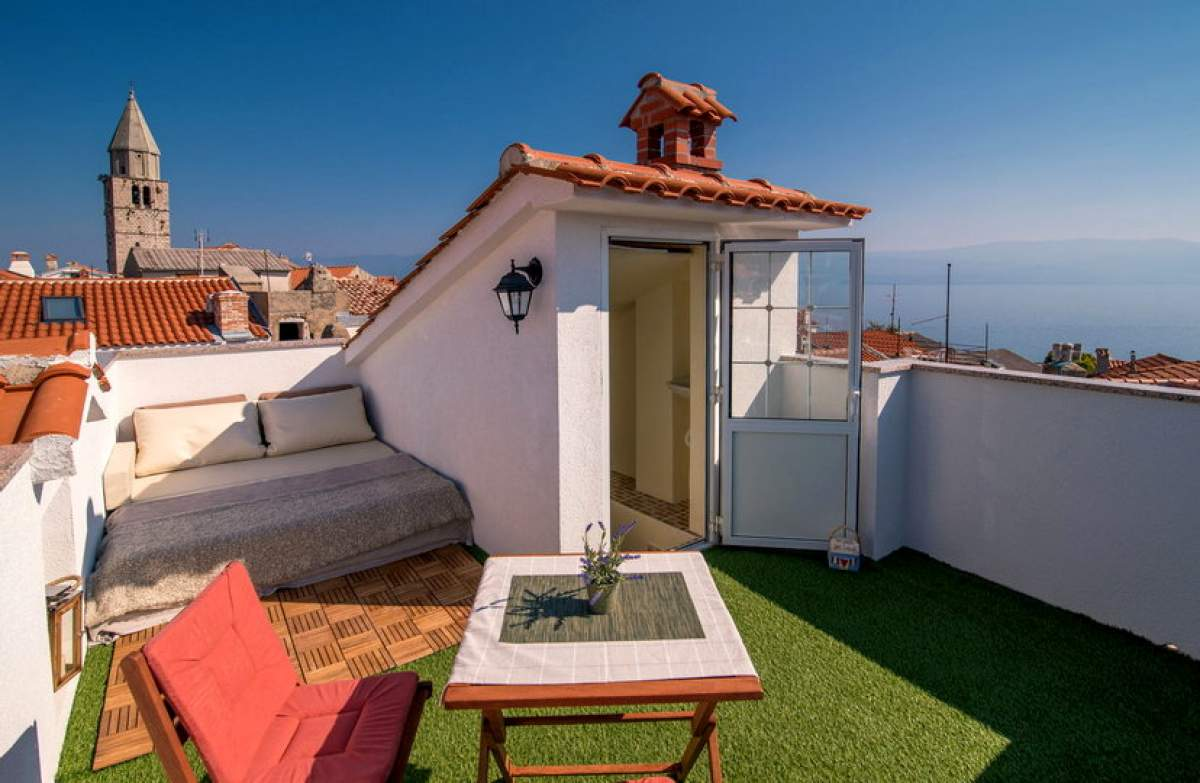 Accommodation in the Krk old town ceters