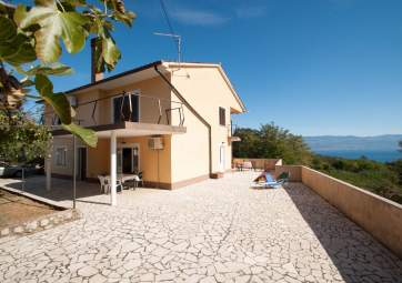 Zabrajdini - with spacious terrace and nice sea view
