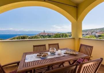 Ulikva 1 - moderan apartman s otvorenim pogledom na more