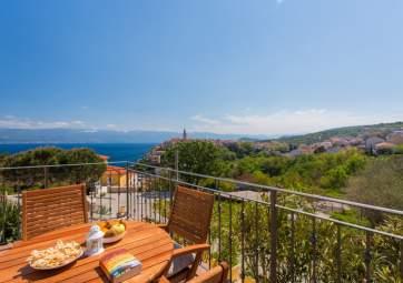 Ulikva 2 - accogliente appartamento con splendida vista mare