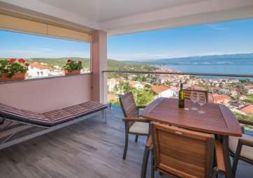 Una - appartamento moderno con splendida vista sul mare