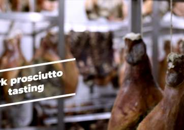 Guided Tour of Prosciutto Factory and Tasting of Krk Delicacies