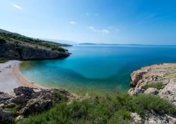 Badeausflug zu den schönsten Stränden der Insel Krk