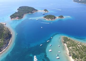 Rab, Krk und Grgur - Inselhüpfen mit Schwimmen