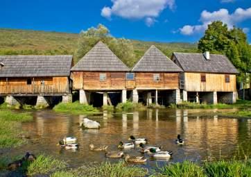 Majers Wassermühle - Quelle des Flusses Gacka