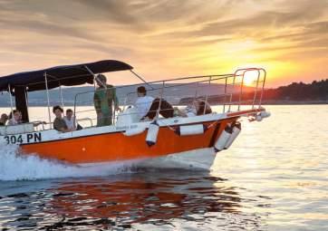 Full-day speedboat trip to hidden beaches